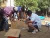 Apoderados del Jardín Infantil Tegualda hermosearon el establecimiento