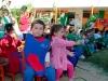 Bendición de ramos en Jardín Infantil El Roto Chileno