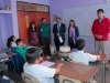 Estudiantes de la Escuela Luis Undurraga recibieron homenaje por alza en resultados del Simce