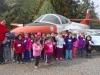 Jardín Infantil Tegualda visitó Museo Nacional Aeronáutico y del Espacio