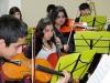 Orquesta Sinfónica Infantil y Juvenil se presentó en Tribunales de la Familia