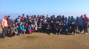 Campamento de Invierno realizado en el Balneario de Pichilemu.
